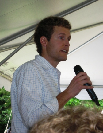 Sam Beall of Blackberry Farm was the emcee for the brunch.