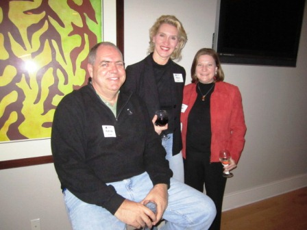 From left, Patrick Roddy, Mary Bogert and Susan Brown