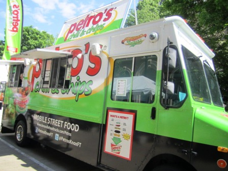 Folks in K.noxville have been loving Petro's since the 1982 World's Fair! Now the truck takes the spicy treat all over town.