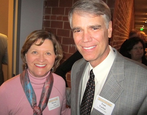 Tennessee Supreme Court Justice Sharon Lee and Federal Judge Tom Varlan