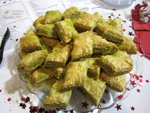 The baklava wasn't bad, either!