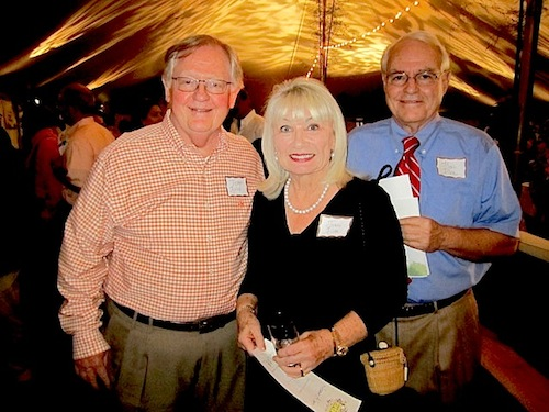 Victor Ashe, left, with Joan and Neal Allen
