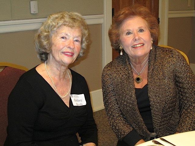 Betsey Bush, left, and Sherri Lee