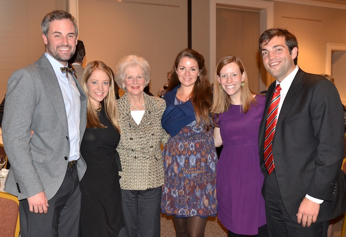 From left, Matt Avery, Leigh Haslam Avery, Annie Haslam Colquitt, Hannah Haslam, and David Colquitt (Photo courtesy of Jack Williams)