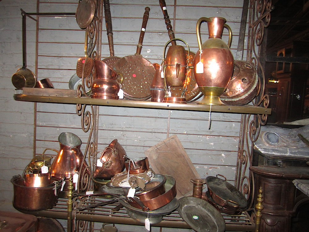 Pretty copper pieces.