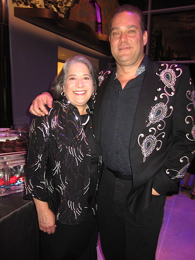 Did they plan these outfits? Mayor Rogero with attorney and art enthusiast Don Bosch.