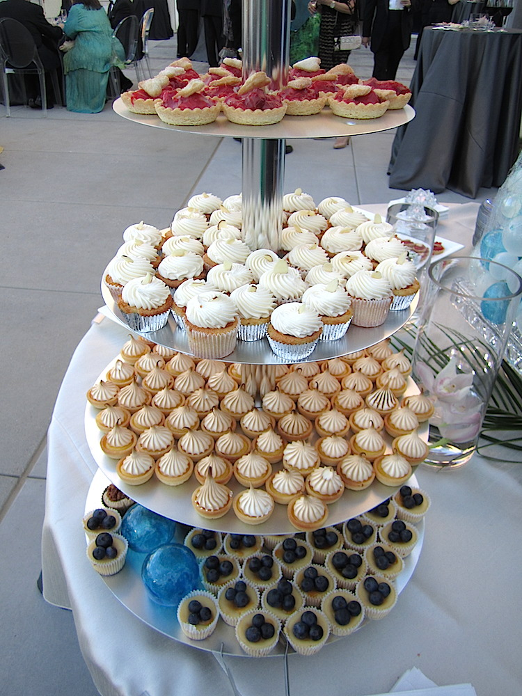 Part of the dessert table by Magpies.