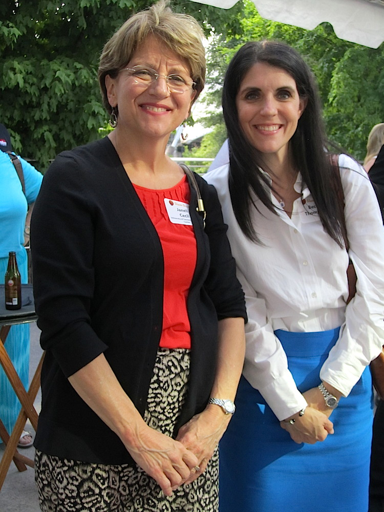 Jannell Cecil and Becky Thompson of UT Medical Center.