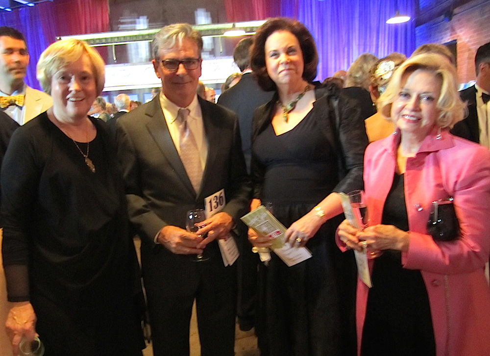 From left, Susan Farris, David Butler, Rosemary Gilliam and Theresa Stone.