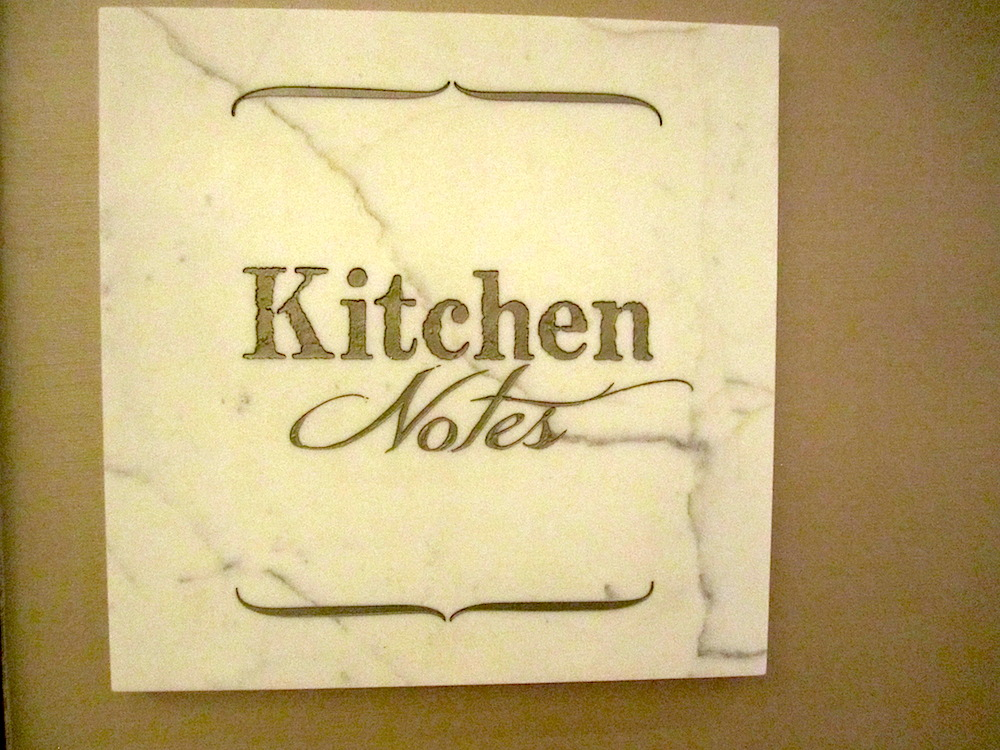 Kitchen Notes is on the ground floor of the Omni Hotel in downtown Nashville.