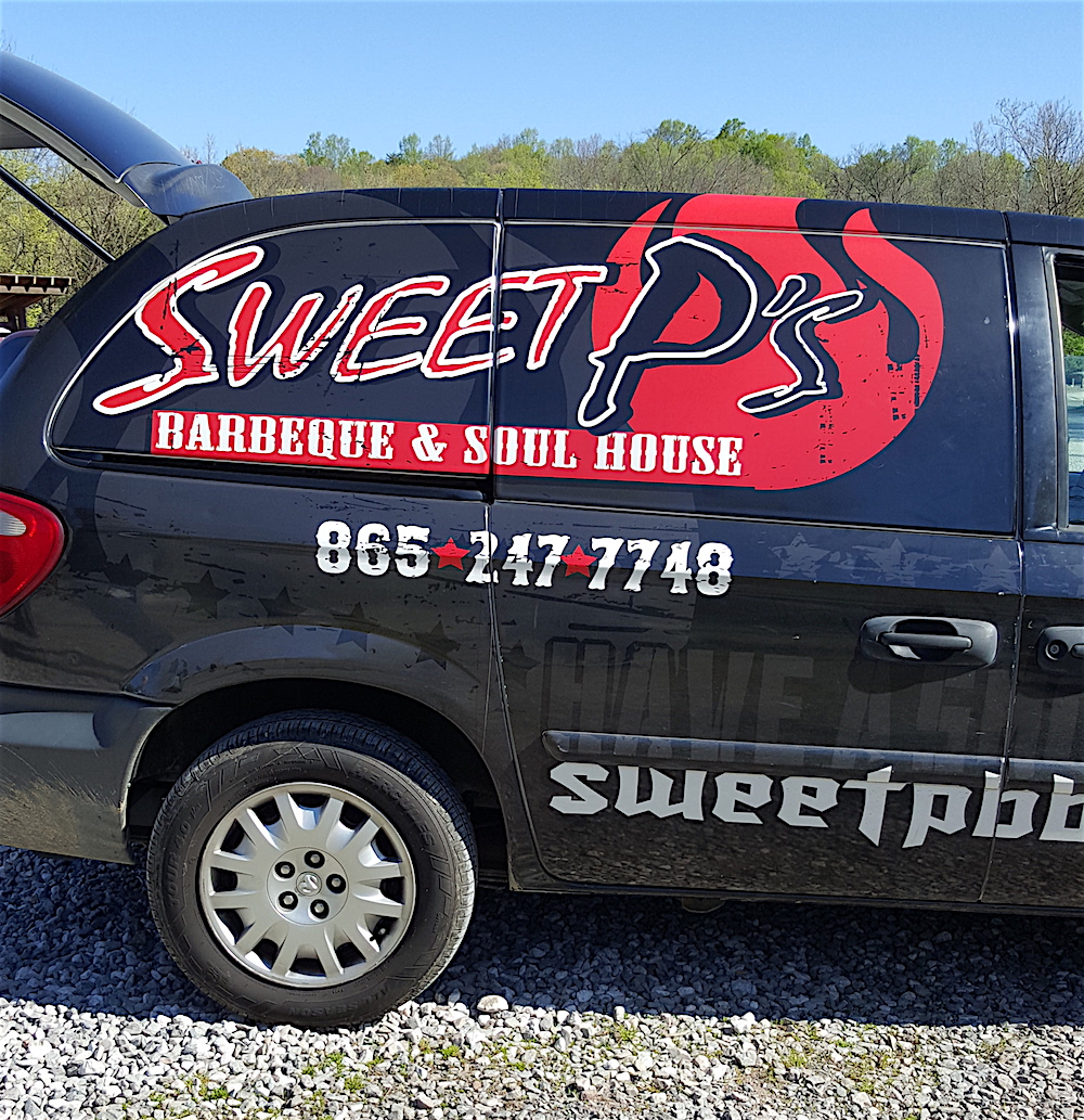 Our friends from Sweet P's were a welcome sight!