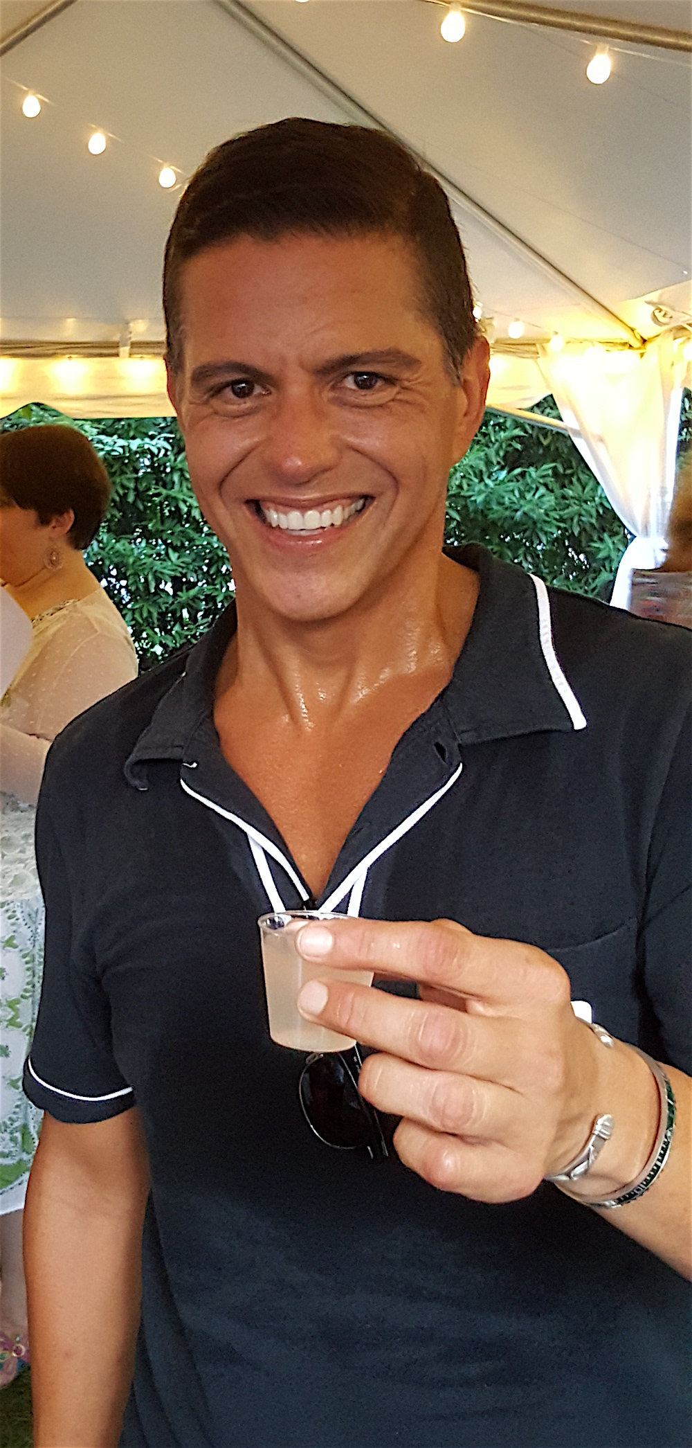 Rene Yanes was the winner of the cocktail contest with his drink called The Nicholas, named after the historic building where he lives. Congrats!