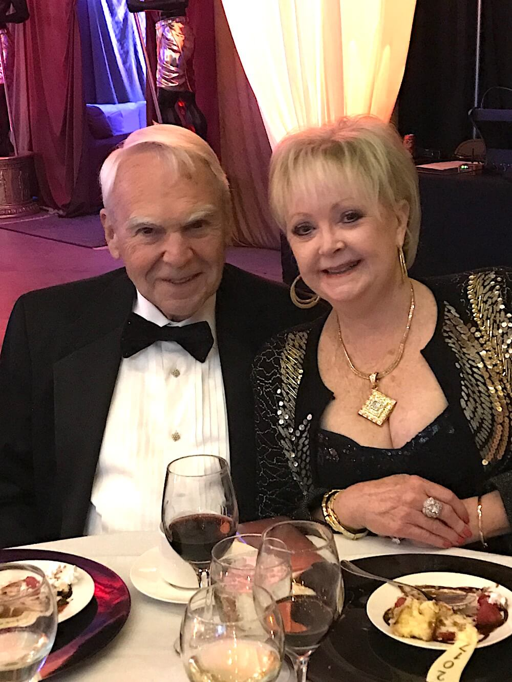Dr. Bill and Sharon Laing.