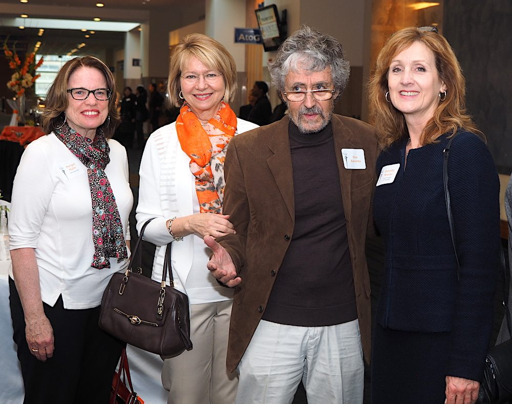 From left, Marigail Mullin, Susan Martin, Paul Barrette and Dorothy Bryson.